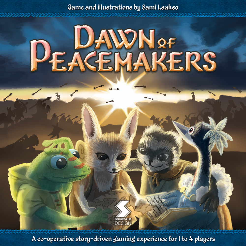 Dawn of Peacemakers box cover