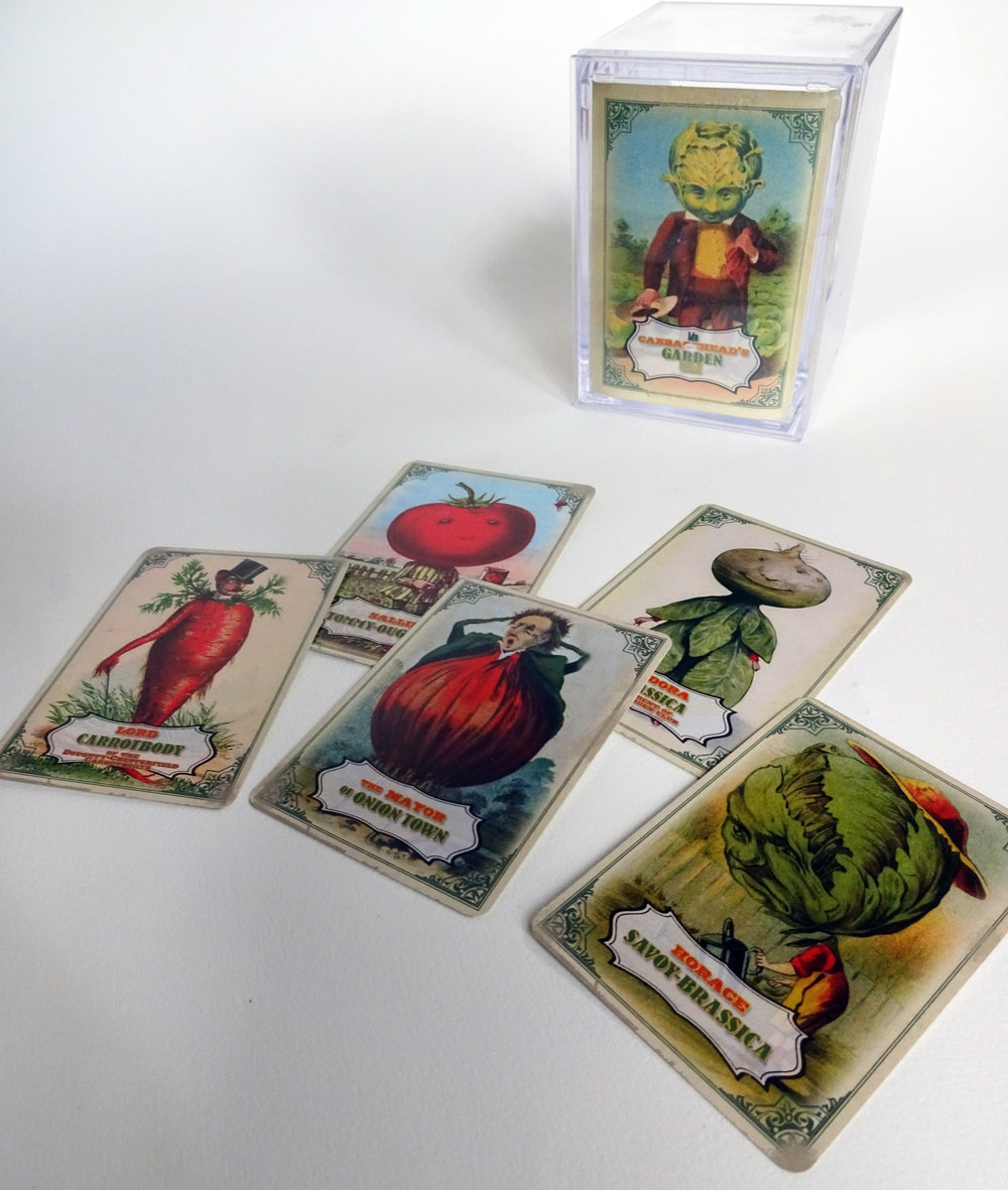 Mr Cabbagehead - print and play cards