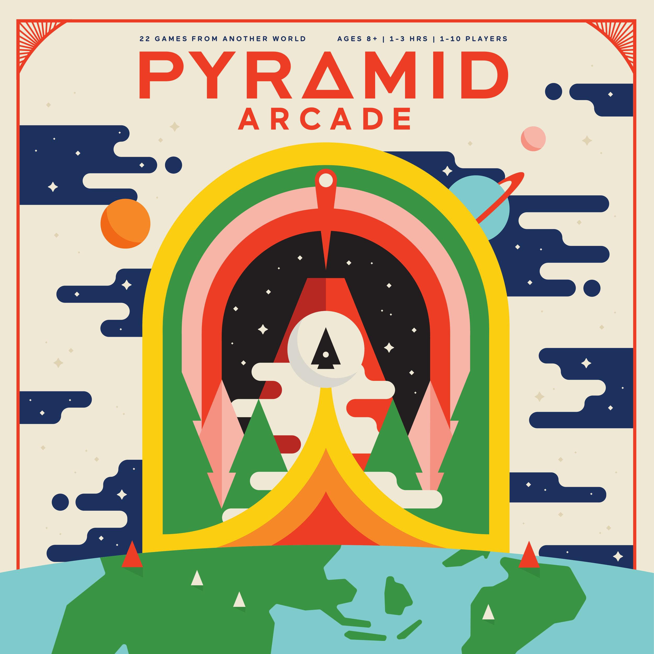 Pyramid Arcade — Art in Board Games Blog — More Games Please