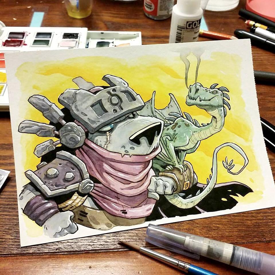 Mobster Metropolis: The Art in Kickstarter #2 — More Games Please