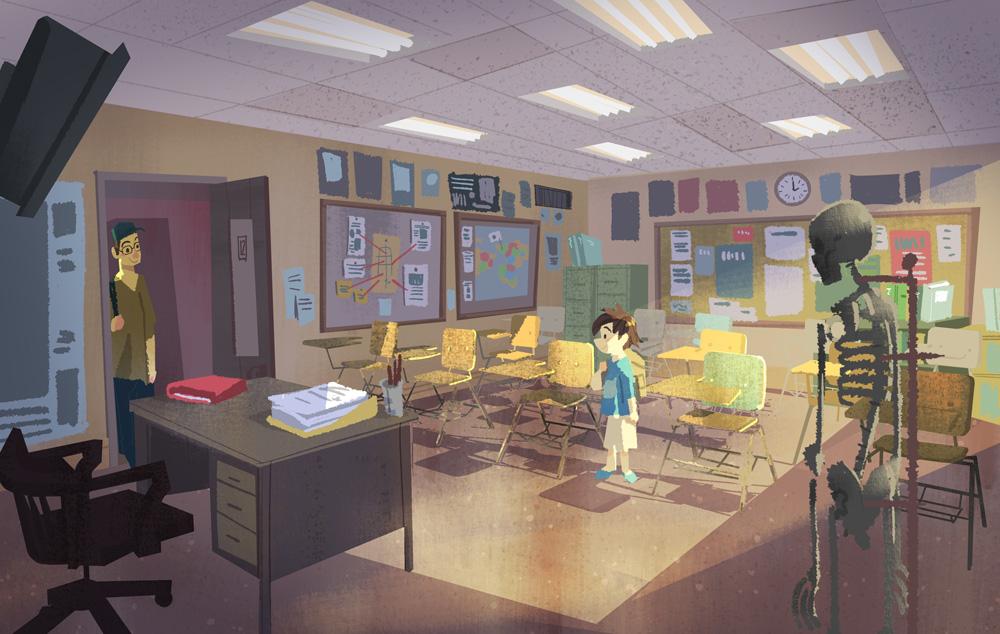 Victoria Ying - Big Hero 6 - Classroom