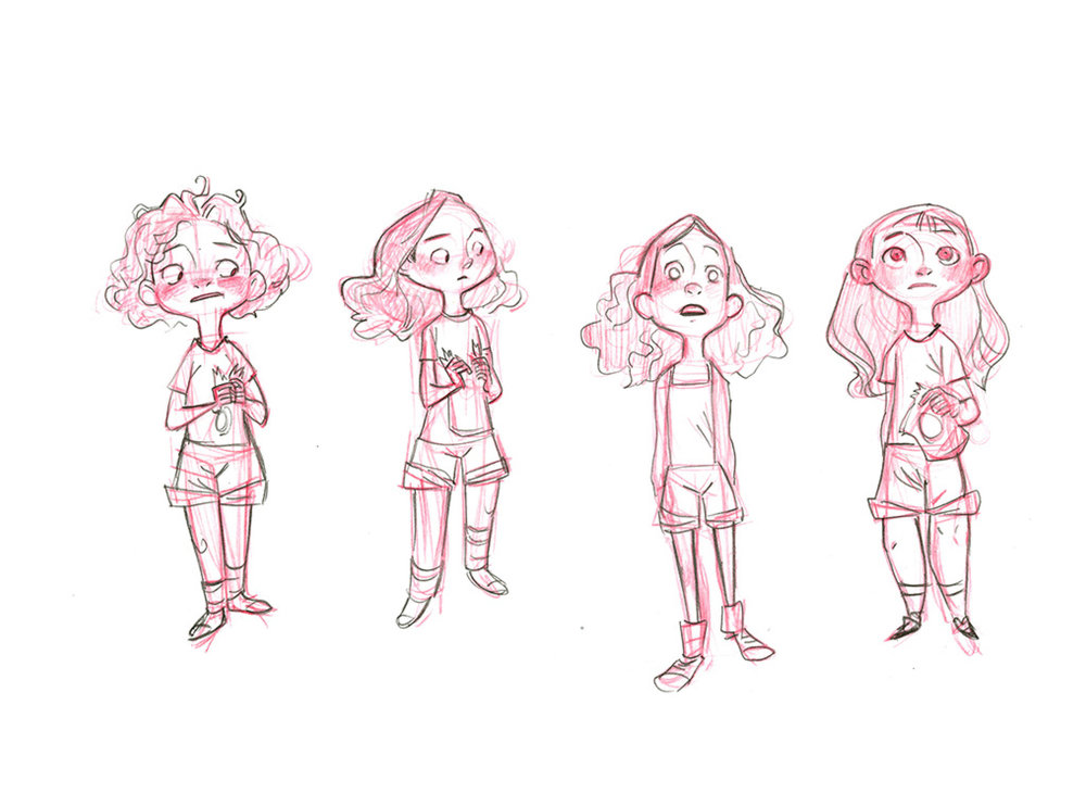 Victoria Ying - Character Design