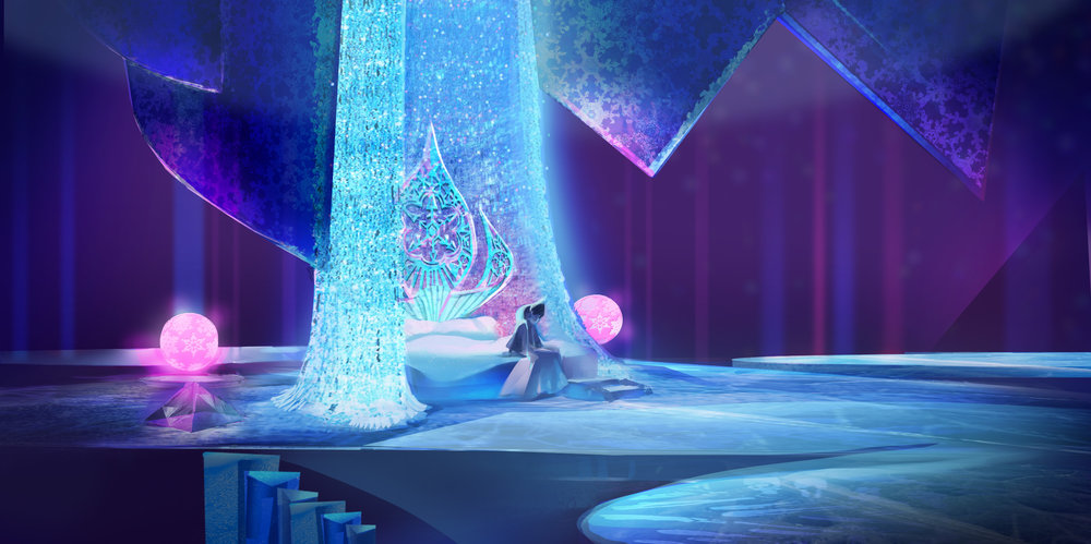 Victoria Ying - Frozen - Bedroom WIP