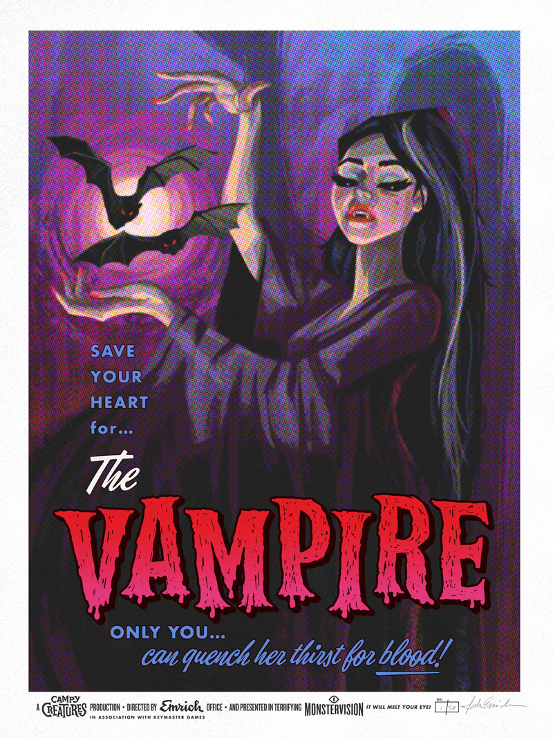 Campy Creatures - Vampire