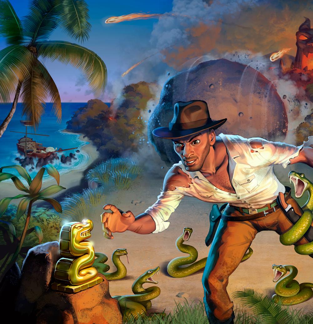 Fireball Island - The Last Adventurer Expansion box art