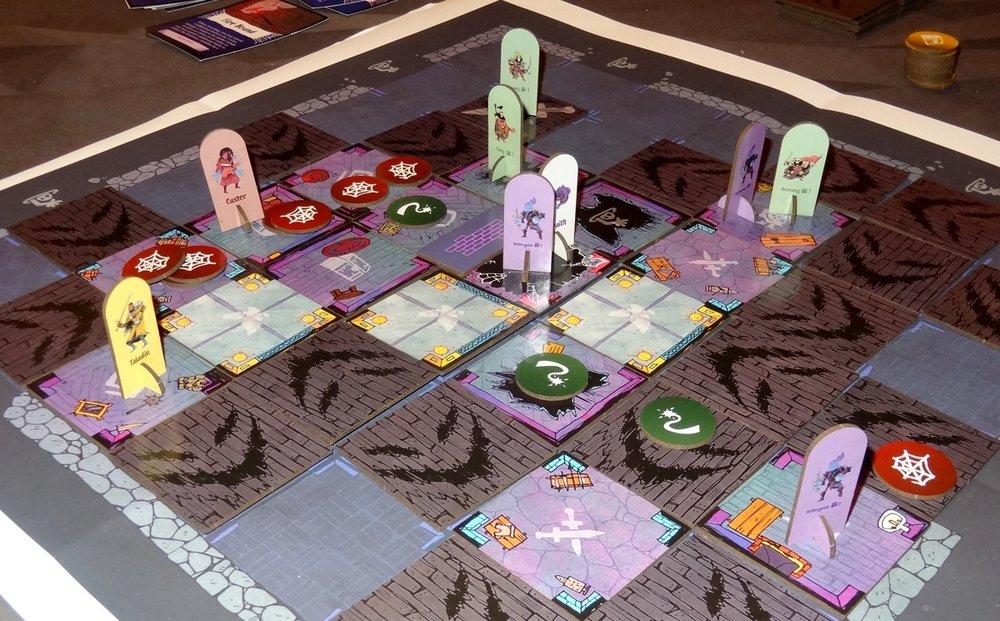 Vast: Mysterious Manor - Prototype Set Up