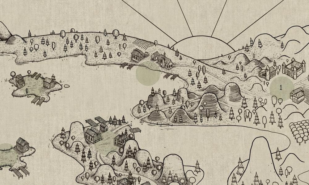 Early Map Art - Feudum