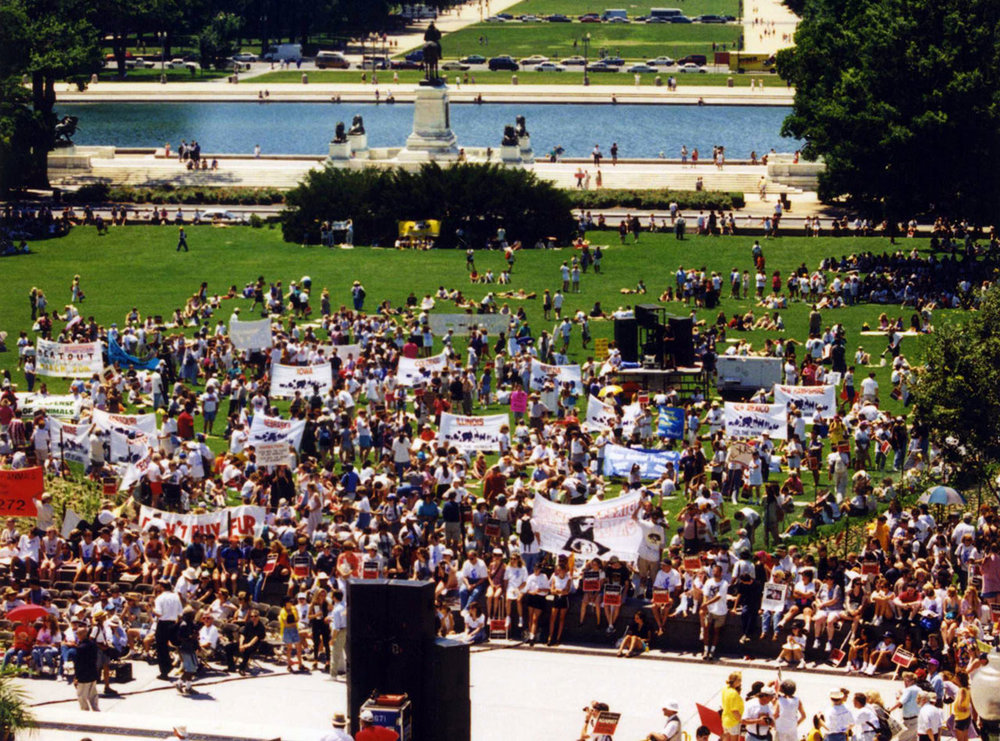 WARM-Marches on D.C-'90 + '96 35 photos