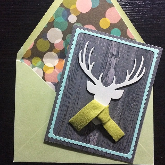 Not a typical bday card, but there was a story that went with it. Happy belated Bryan!! #betterlatethannever #papercrafts #simonsaysstamp #diy #cards