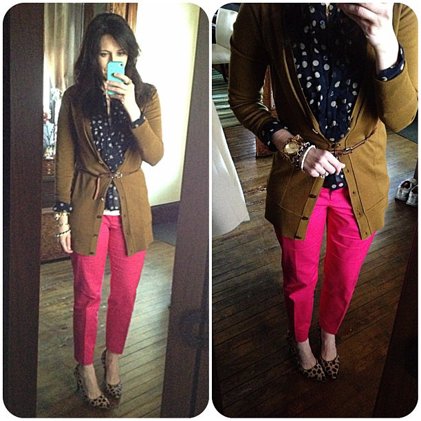 How would you wear hot pink pants?