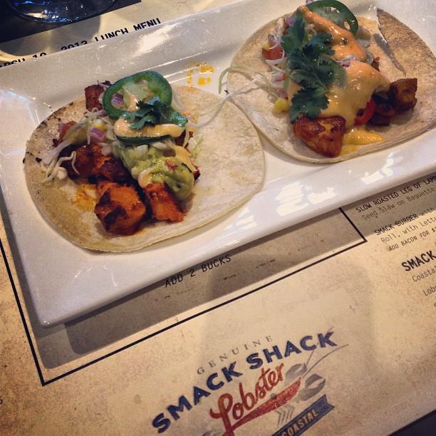 Mahi Mahi tacos #nomnom #smackshack #sogood
