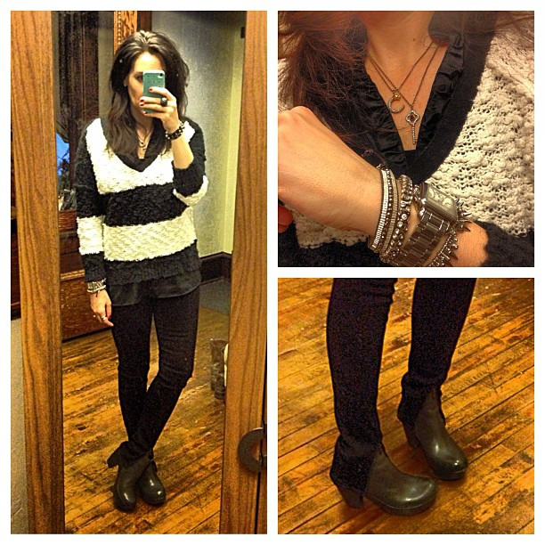 {dress} front zip love #ootd #wiw #personalstyle #selfie #hudsonjeans #stelladotstyle #bluebirdboutique #korkease #booties
