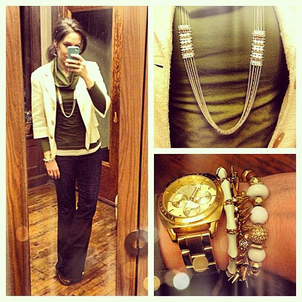 {dress} TGIF #ootd #wiw #personalstyle #selfie #stelladotstyle #paigedenim #trinaturk #targetstyle