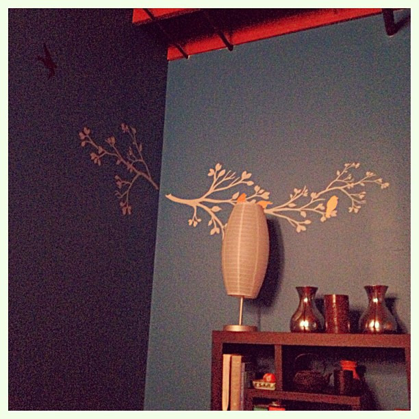 {do} my view at acupuncture tonight #holistic #wellbeing #easternmedicine