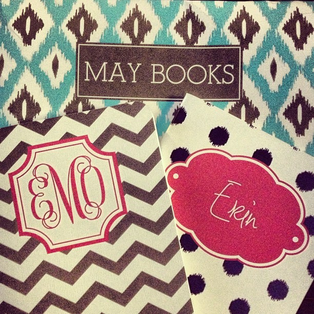 {design} my first @maydeigns agendas came today! #getorganized #agenda #saynotouglynotebooks
