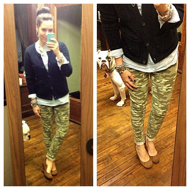{dress} camo + navy #ootd #wiw #personalstyle #targetstyle #targetdoesitagain #camo #casualweek