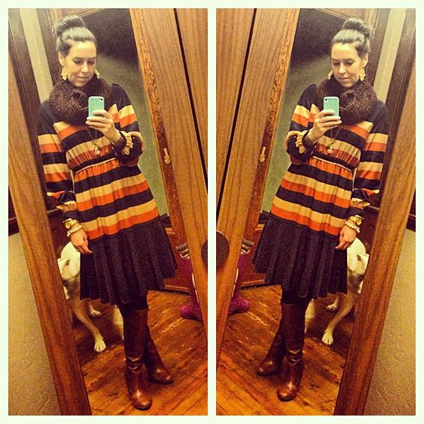 {dress} simple #ootd #wiw #personalstyle #stripes #workwear