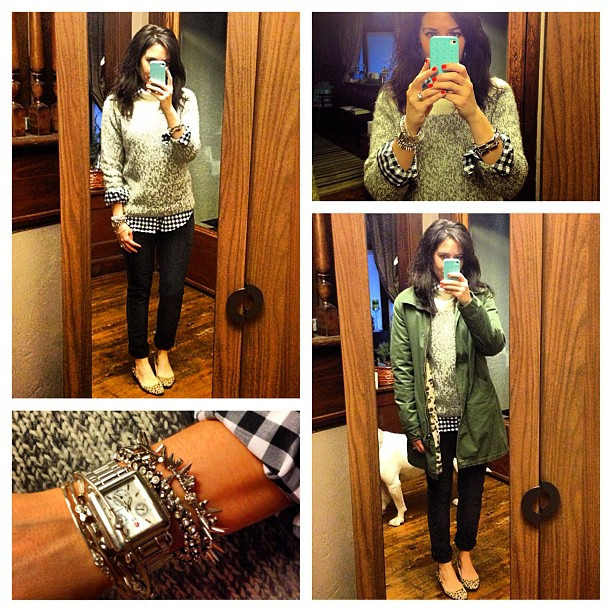 Fast becoming my favorite sweater #onrepeat #jcrew #ootd #wiw #paigedenim #stelladotstyle