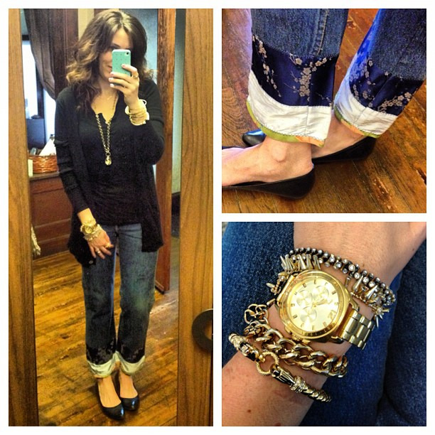 Casual basics with flair #stelladot #vintagelevis  #stylemint #jcrew #ootd #wiw