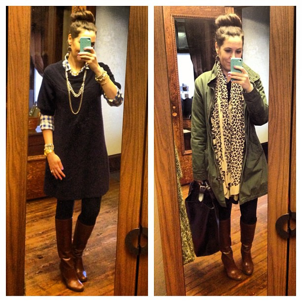 Sweater weather #ootd #wiw #stelladot #bcbg #jcrew #layers
