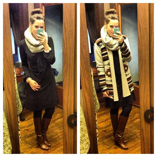 Layering up b/c it's always FREEZING at work #ootd #layers #wiw