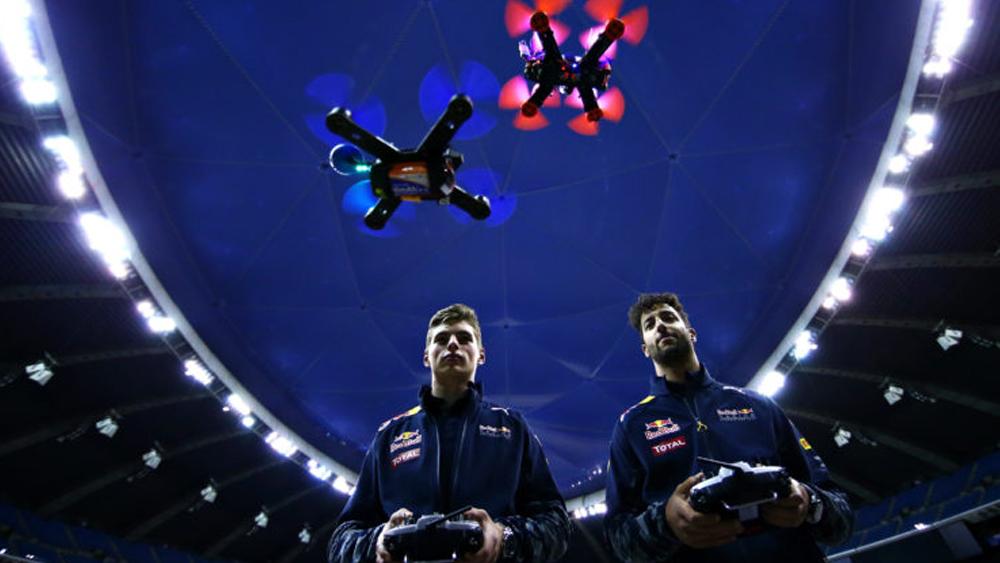 gare tra droni