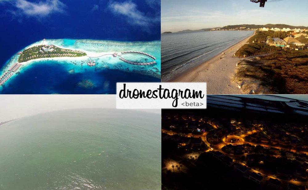 dronestagram social foto col drone