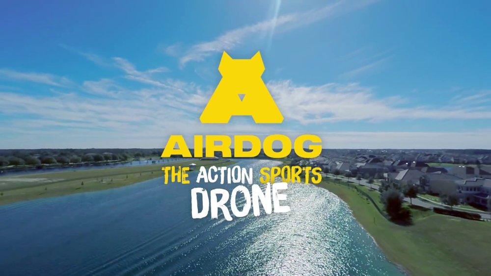 drone airdog drone action cam