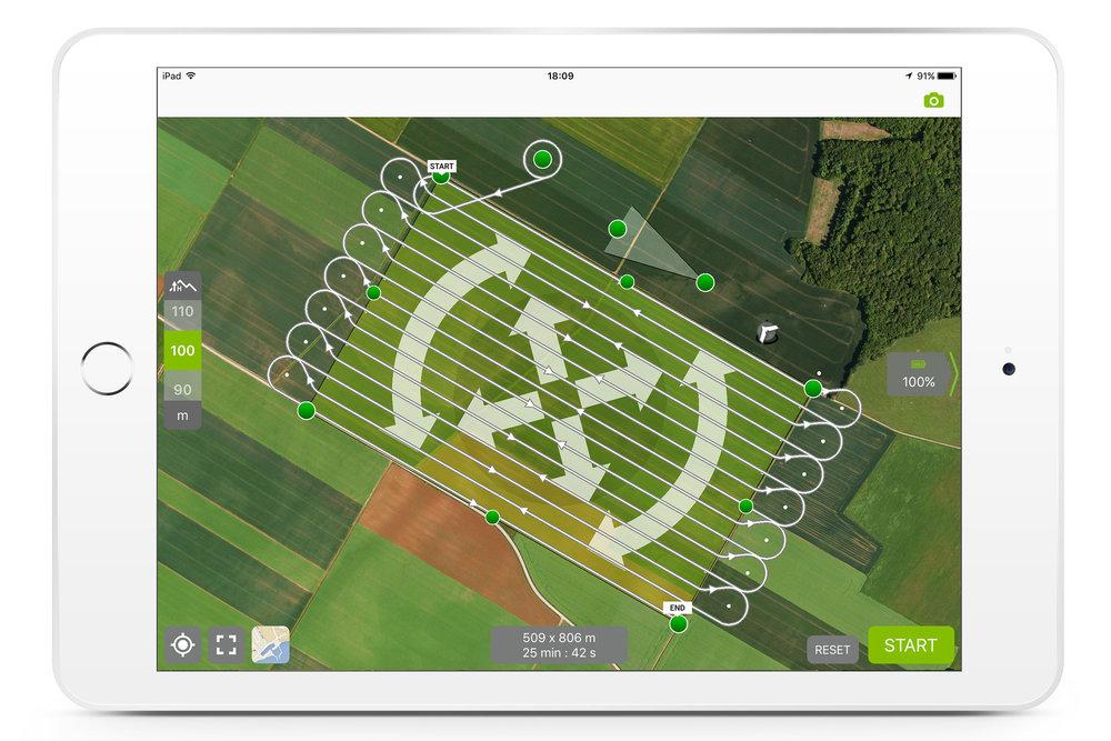 disco-pro ag drone per agricoltura di precisione