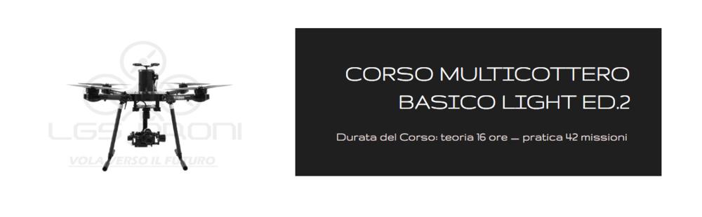 CORSO PILOTAGGIO DRONI PIEMONTE
