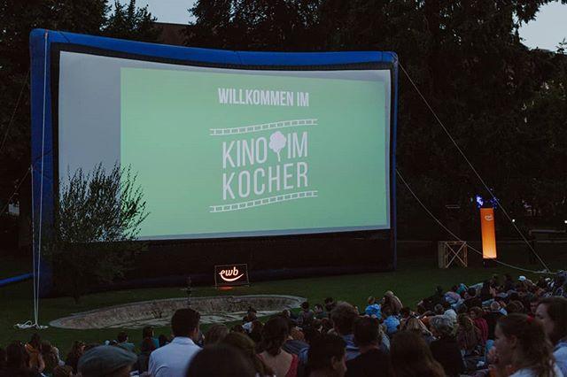 """Heute zeigen wir """"In Bruges"""" am @ewb_bern-Filmabend! 🥂 DrewBARrymore ab 17 Uhr 🎬 Filmstart ca. 20:30 Uhr  Decke nicht vergessen und einem gemütlichen Kinoabend im Kocherpark steht nichts mehr im Weg. 💚"""