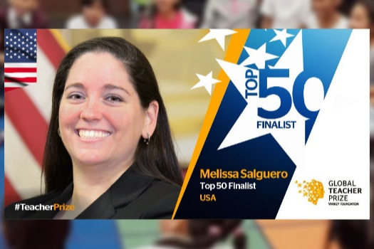 Today's Guest: Melissa Salguero - Melissa Salguero is the 2018 GRAMMY Music Educator Award Recipient and is a top 50 FINALIST for the 2019 Global Teacher Prize, which awards the winner with $1 million.Salguero says she's an educator in order to inspire generations of students and teachers to work hard, dream big, and never give up on their goals in life. Her mission is to provide students with a diverse music education that fosters musicianship, leadership skills, and a sense of community that unites them together.You can learn more about her in this CBS News feature.