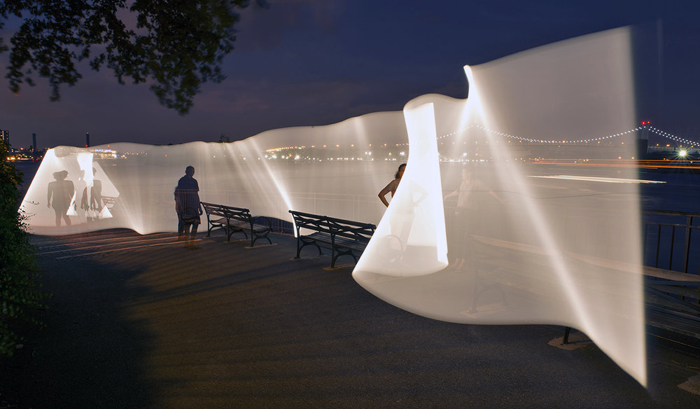 East River Esplanade #1, 2014