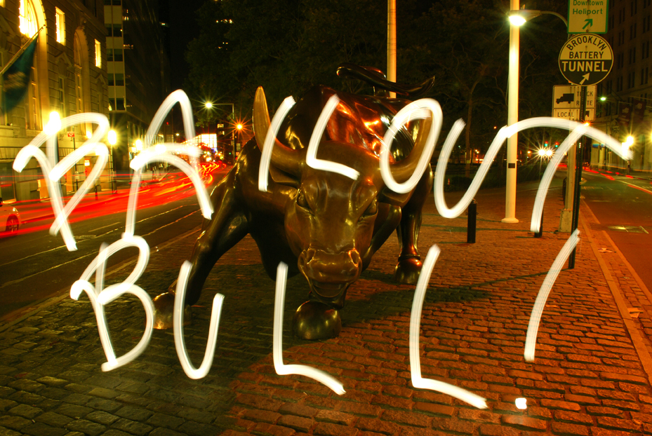 Bailout Bull, 2008