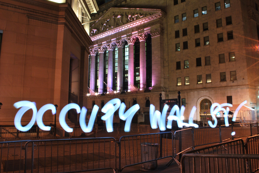 Occupy Wall St!, 2011
