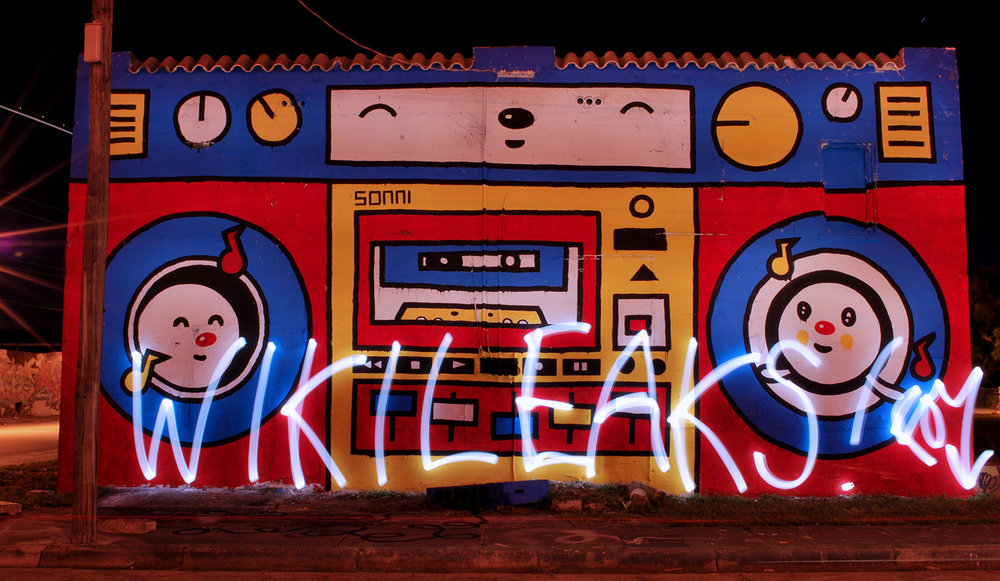 Wikileaks Sonni Boombox Miami, 2010