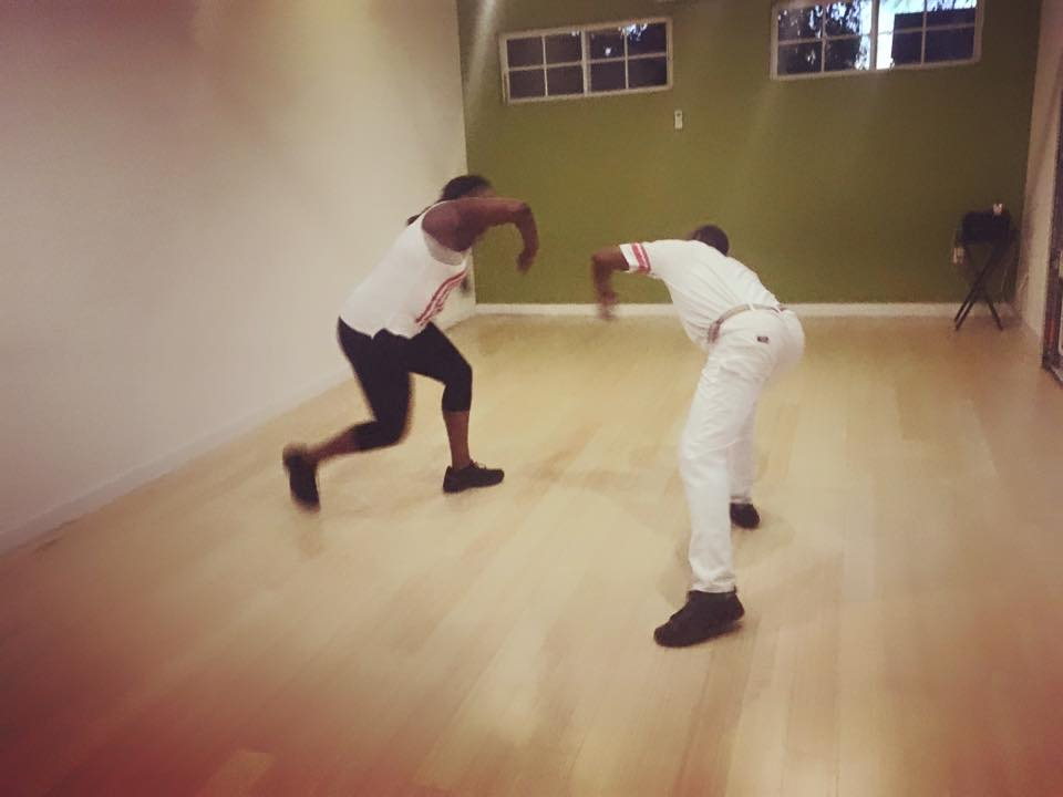 Capoeira Angola - Teacher, Marrio & ZoeWeekly on Tuesdays at 7:00pm | Co-edThe Afro-Brazilian martial art, Capoeira, is often described as being a dance, a fight, or a game. Those who take note of the graceful, rhythmic, continuous movements of Capoeira see it as a dance. Those who focus on the attacks, escapes and counterattacks hidden within those graceful movements see it as a fight. Those who appreciate the relaxed attitude and playful nature of those involved, see Capoeira as a game. Capoeira Angola is all these things and more. Indeed, Capoeira is a multidisciplinary art form containing life-lessons in each of its components: history, philosophy, music, movement, and technique.Free for Members & $15 for GuestsClick here to register