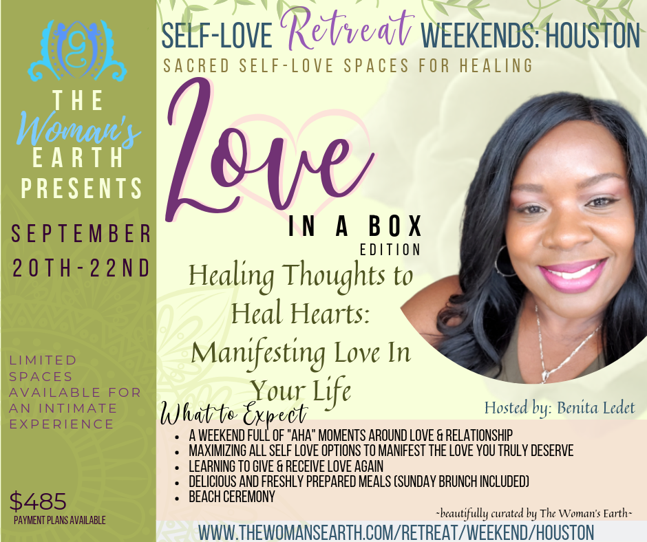 a85f4fb9e Manifesting Love In Your Life Self-Love Weekend Retreat