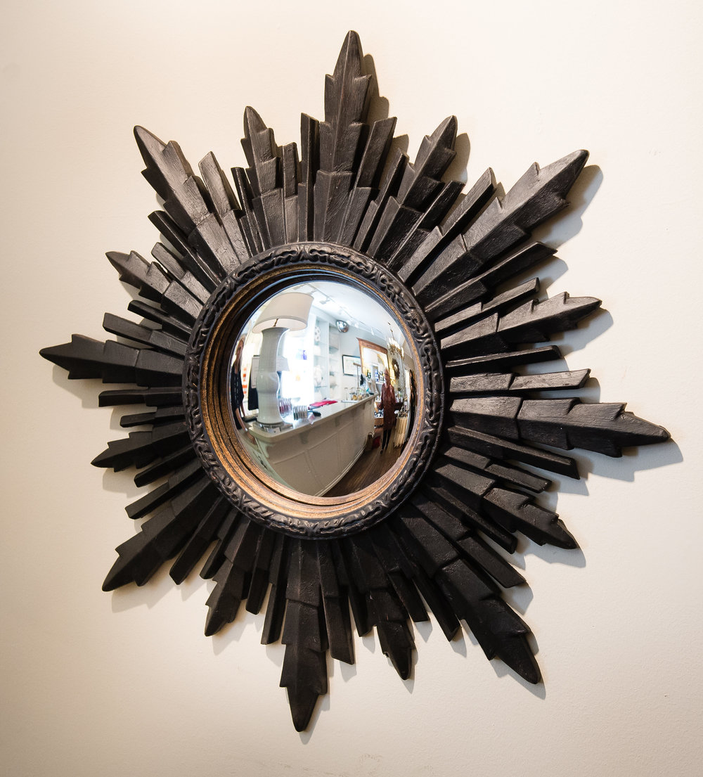 Decorative Mirror in a gift shop in Atlanta's Buckhead neighborhood