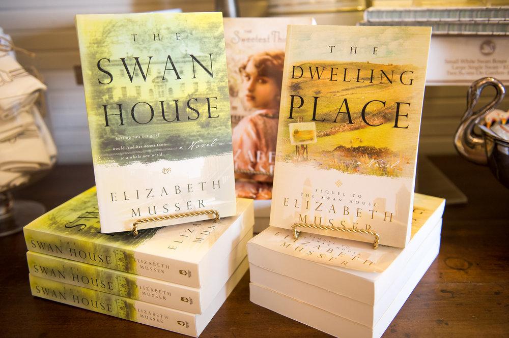 Novels about Swan House, Atlanta