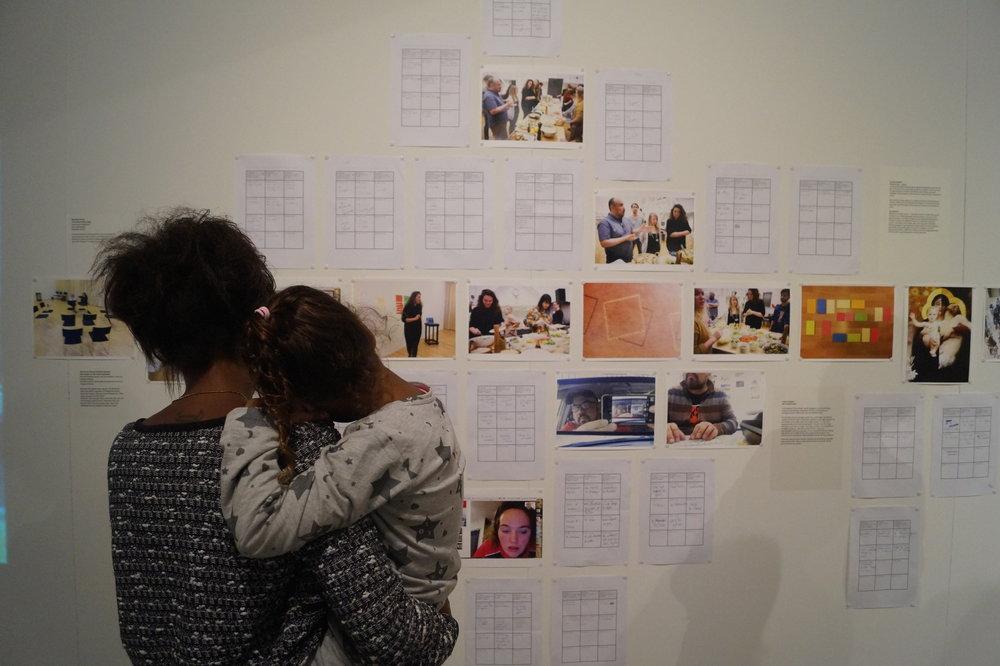 Teacher as conceptual artist opening