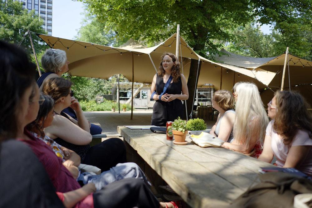 Artist-teacher led workshop, Lisanne