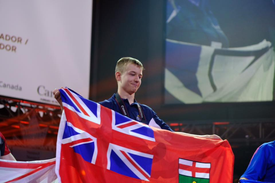 On-stage at Skills Canada 2016 in Moncton!