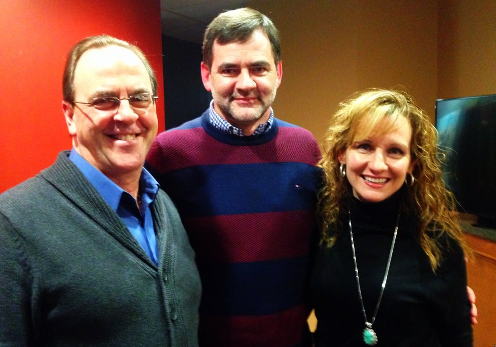 John & Kath with Dr Curt Thompson (2015)