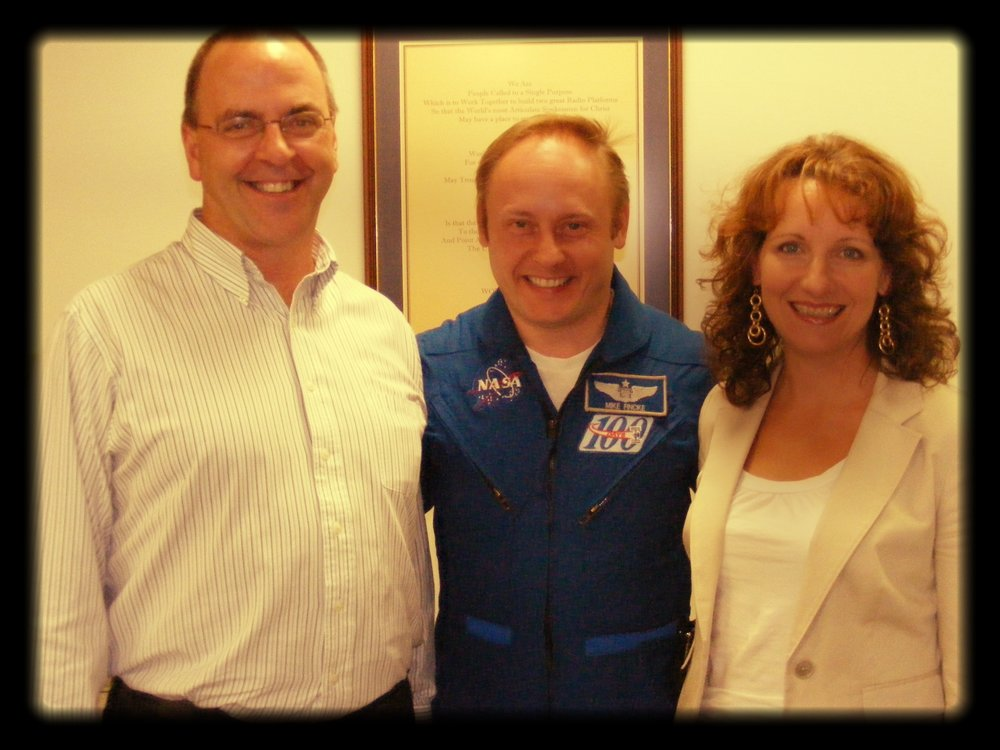 with Mike Fincke, NASA astronaut (2009)
