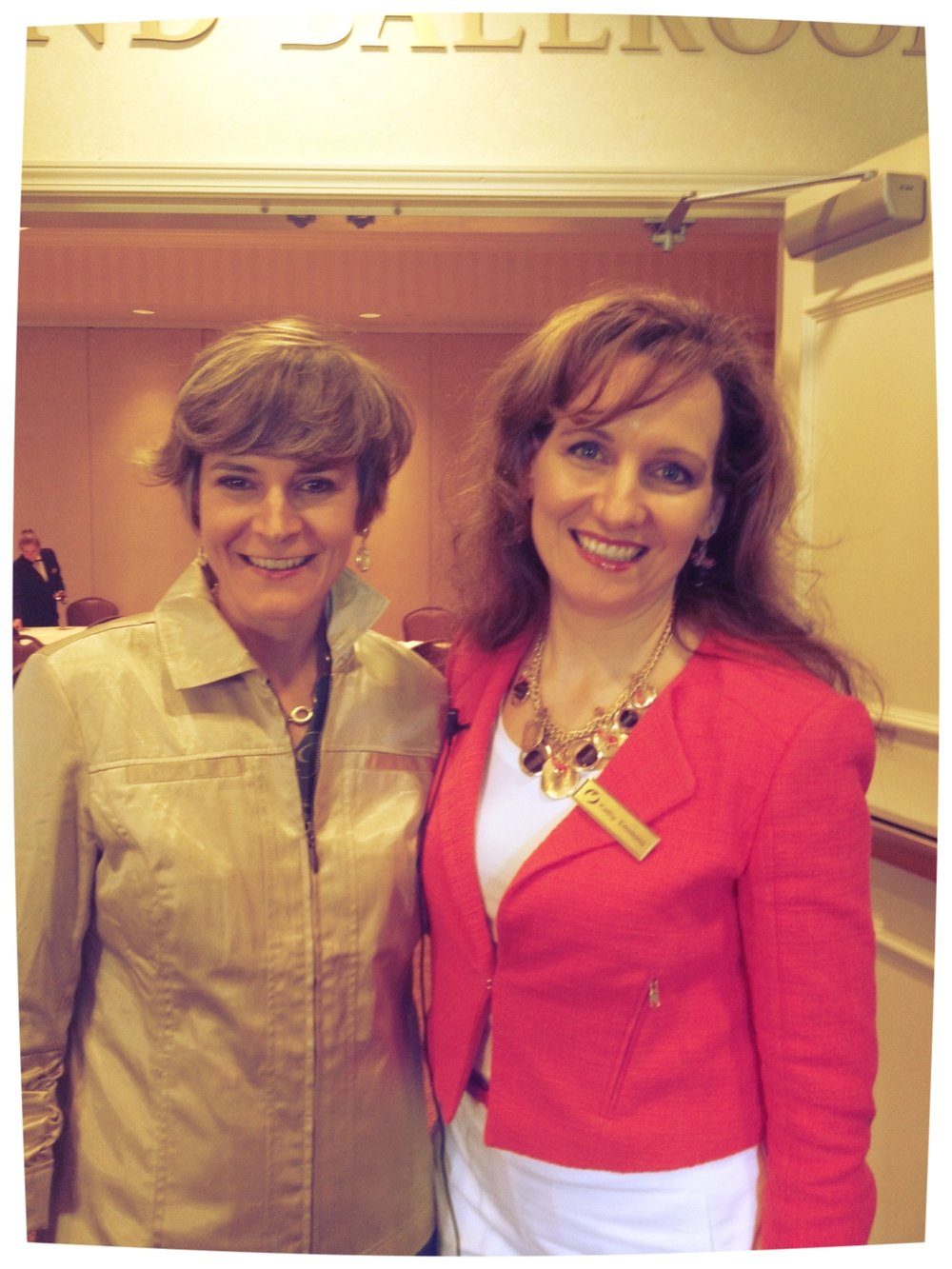 with Julie Slattery, Women In Ministry event, Southpointe (2012)