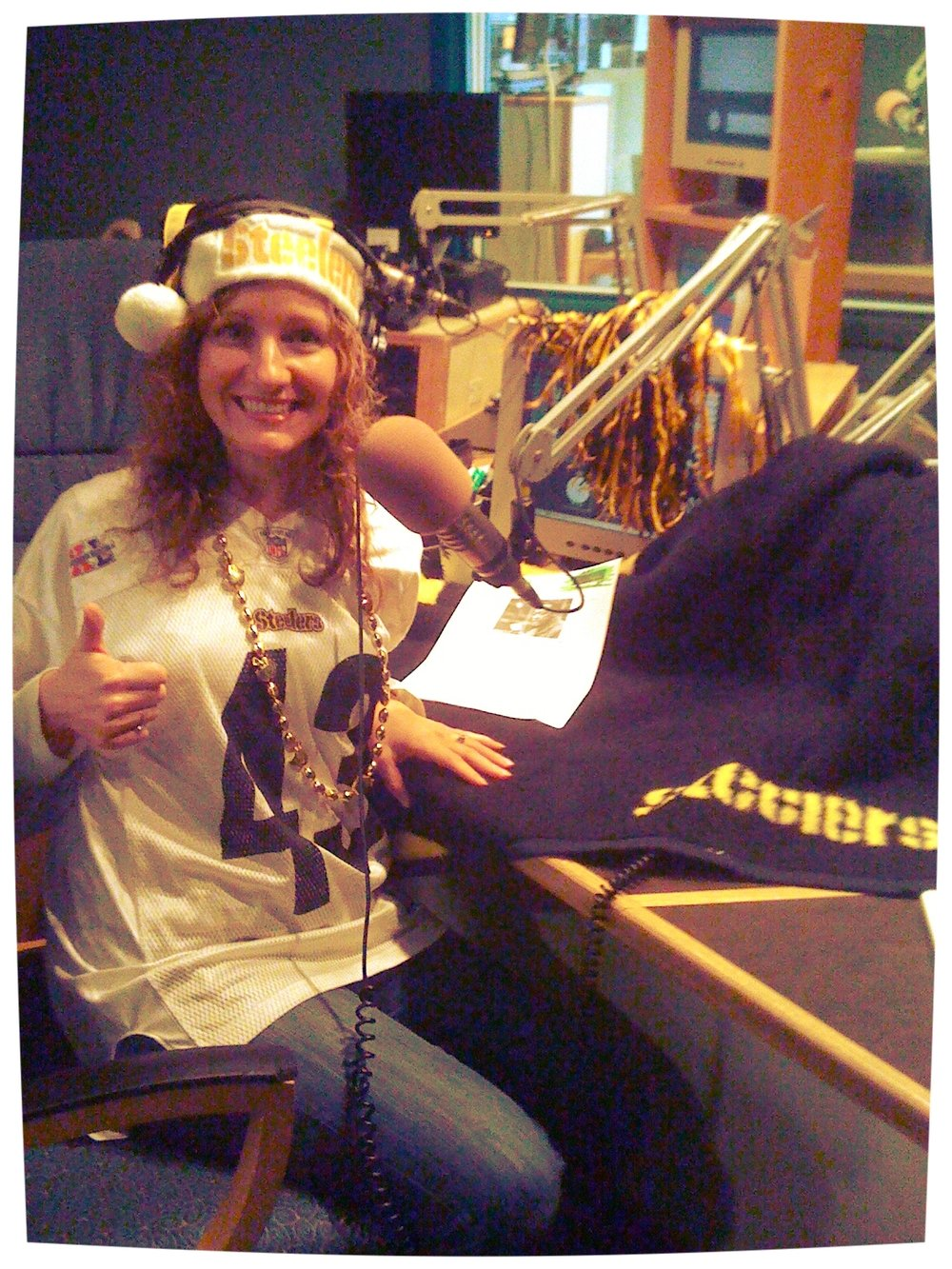 in studio, the Friday before Super Bowl XLV (2011)