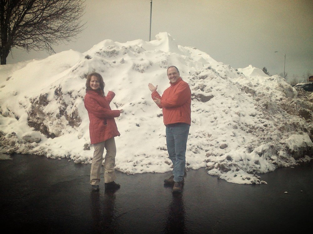 1st listener contest (When will the snow pile disappear?)  (2010)