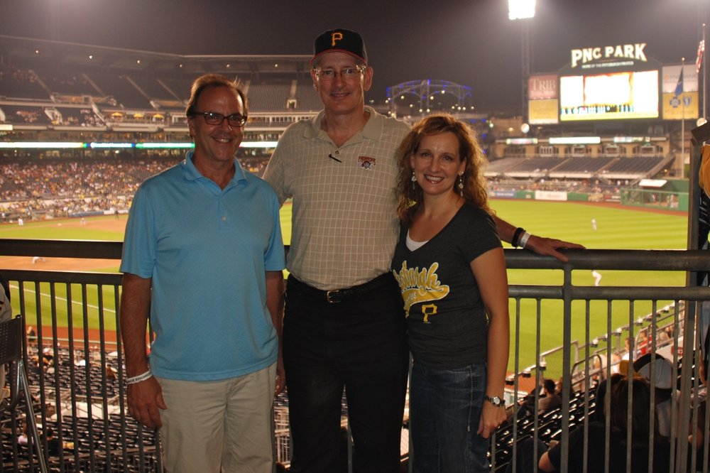 with David Greusel, PNC Park architect (2012)