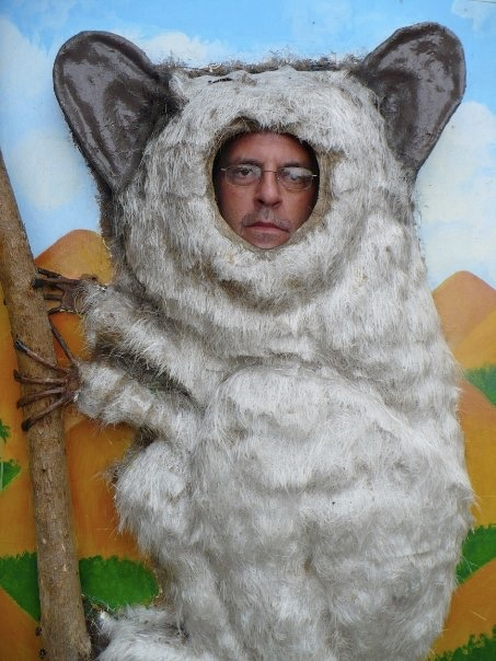 John, as a possum, in despair (2009)